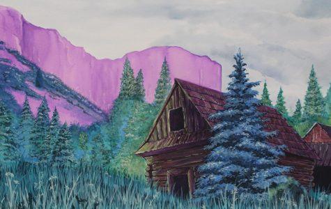 Painting by: Vadym Popesku