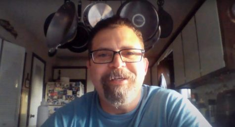 Greg Walker, along with all other Nixa High School teachers, is teaching from home.