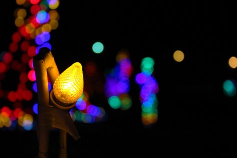 The drive-through Finely River Park Christmas Lights Of Ozark is available through December.