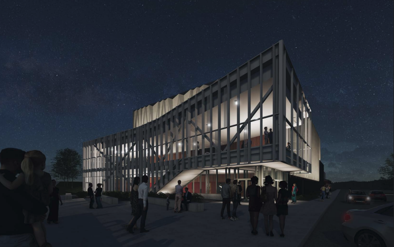 Work will begin on the new performing arts center during the 2021-22 school year.