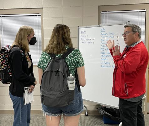 Speech and Debate coach Jay Williamson offers advice to speech and debate students.