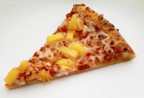 Pineapple pizza from Dominos